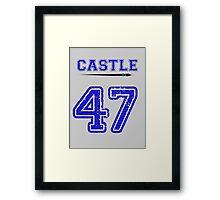Castle 47 Jersey Framed Print