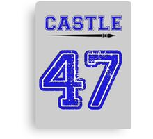 Castle 47 Jersey Canvas Print