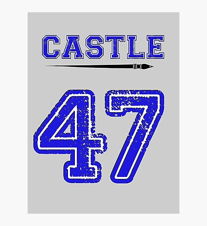 Castle 47 Jersey Photographic Print