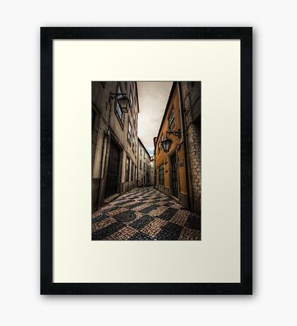 Alley of the Broken Hearts Framed Print