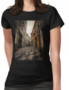 Alley of the Broken Hearts Womens Fitted T-Shirt