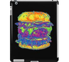 Neon Bacon Cheeseburger iPad Case/Skin
