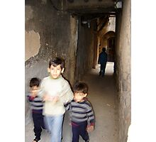 Brothers in Damascus Photographic Print