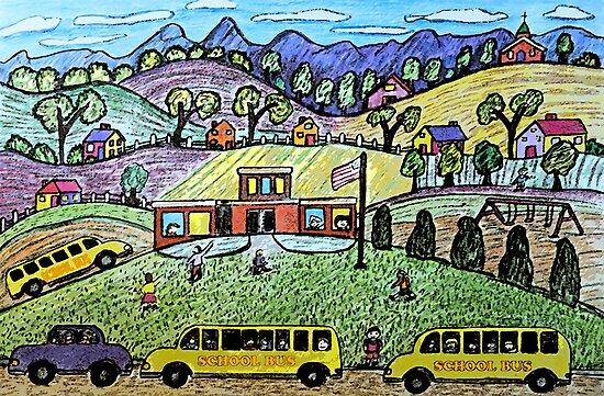 School Is Open by Monica Engeler