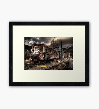 I used to carry dreams Framed Print