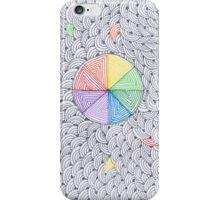 Rainbow circles iPhone Case/Skin