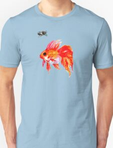 Cicada and Goldfish Unisex T-Shirt