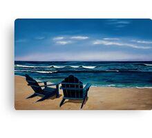Blue View Canvas Print