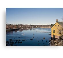 Exeter River Canvas Print