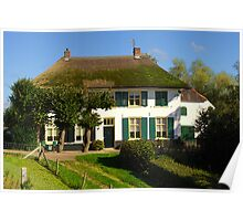 Cottage in Holland Poster
