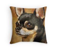 Chihuahua Portrait Throw Pillow