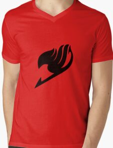 Fairy Tail Logo Mens V-Neck T-Shirt