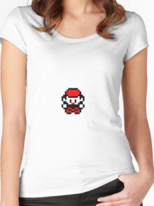 Pokémon Red Women's Fitted Scoop T-Shirt