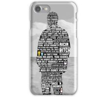 Jesse Pinkman Quotes iPhone Case/Skin