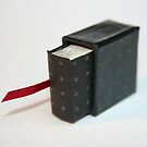 Lettres aux Cubes : W - miniature book n°1 by Pascale Baud