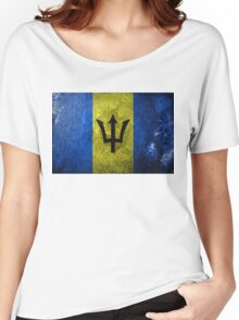 Barbados Grunge Women's Relaxed Fit T-Shirt