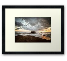 Our Winter Sea Framed Print