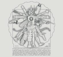 Vitruvian Machine (Gray)