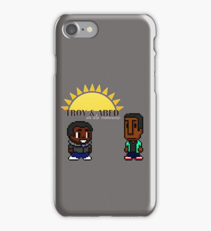 Troy and Abed in the mooooorning! iPhone Case/Skin