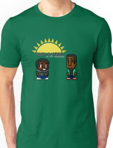 Troy and Abed in the mooooorning! Unisex T-Shirt