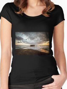 Our Winter Sea Women's Fitted Scoop T-Shirt