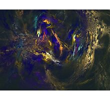 Abstract Lagoon Fractal Photographic Print