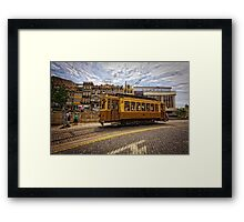 Saturday's Easiness Framed Print