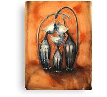 Greys anatomy Canvas Print