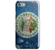 Belize Grunge iPhone Case/Skin