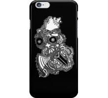 King owl the Thief (White) iPhone Case/Skin