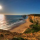 Last Light - Great Ocean Road , Victoria Australia - The HDR Experience by Philip Johnson