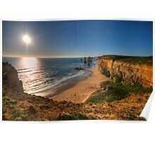 Last Light - Great Ocean Road , Victoria Australia - The HDR Experience Poster