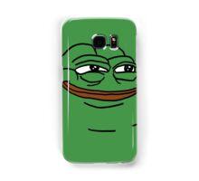 mean green meme pepe the frog Samsung Galaxy Case/Skin