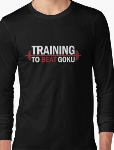 Training To Beat Goku Dragon Ball Z T-Shirt