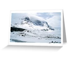 White, white and more white Greeting Card