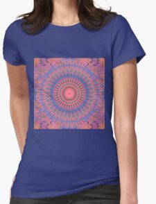 Ecstatic Visions Mandala Womens Fitted T-Shirt