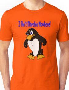 Angry Penguin Unisex T-Shirt