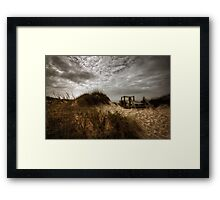 One more day without you Framed Print