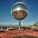 Giant Glitter Ball . by Lilian Marshall