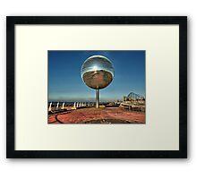 Giant Glitter Ball . Framed Print