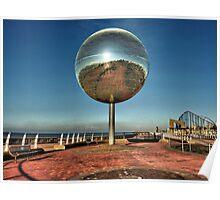Giant Glitter Ball . Poster