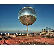 Giant Glitter Ball . Photographic Print