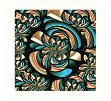 Almost floral abstract Art Print