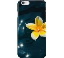 Plumeria Sparkle iPhone Case/Skin