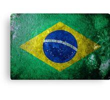 Brazil Grunge Canvas Print