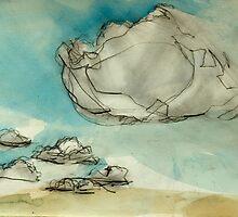 Mersea cloud study 1 by Doug Selway
