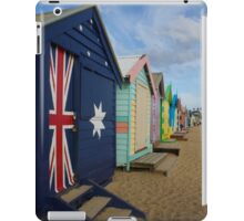 Brighton Bathing Boxes, Melbourne, Australia. iPad Case/Skin
