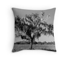 Lone Tree #3 Throw Pillow