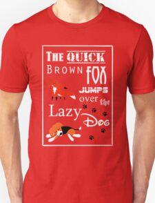 Quick Brown Fox T-Shirt