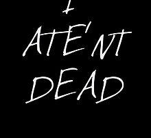 Granny Weatherwax: I ATE'NT DEAD by brookestead